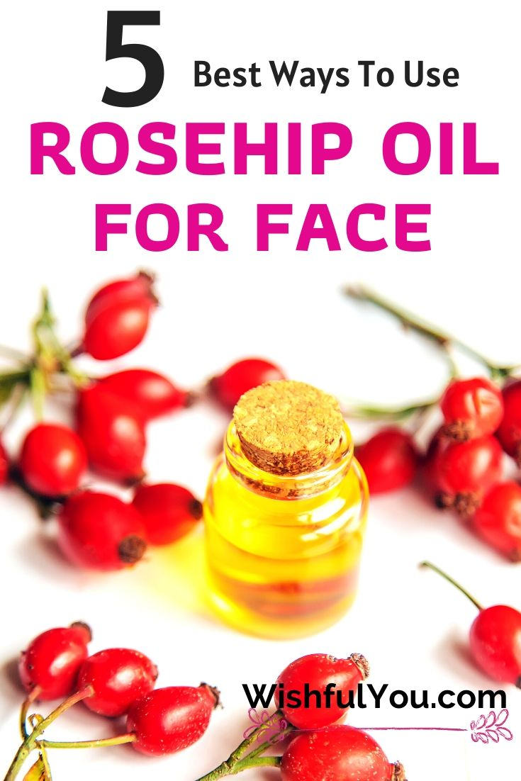 rosehip oil for face