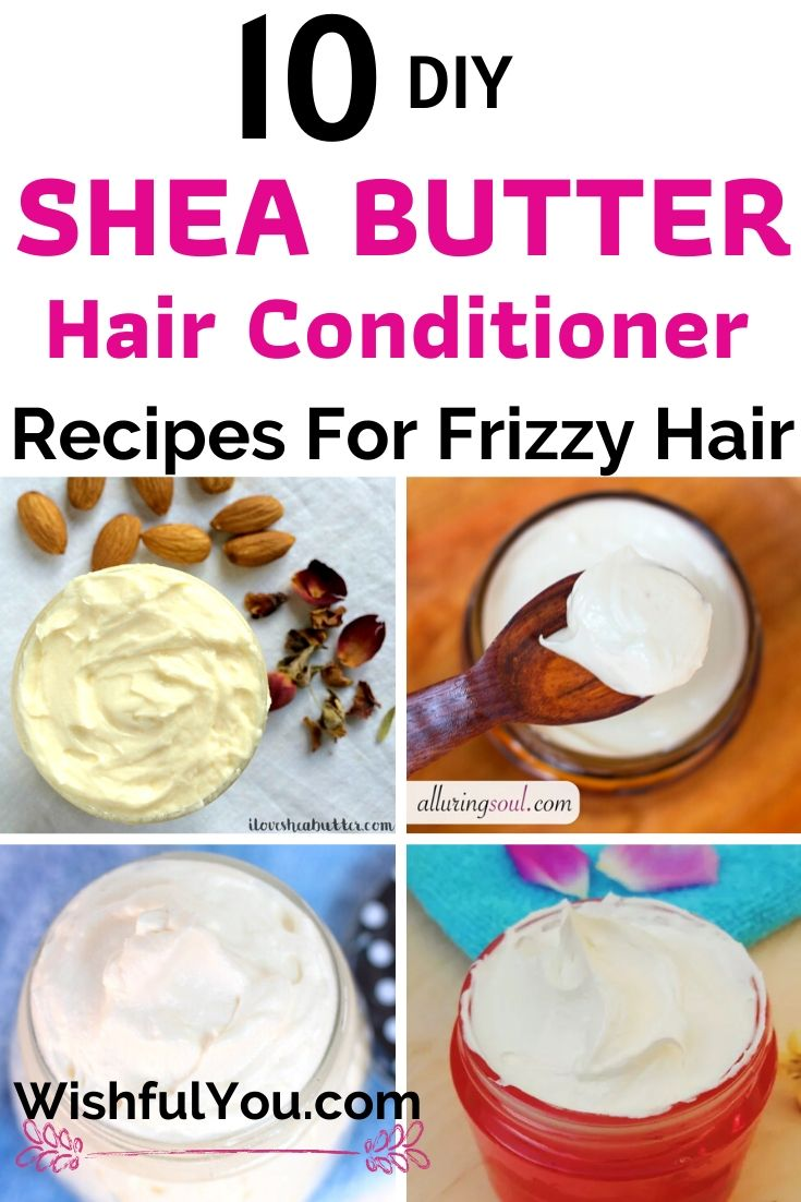 shea butter hair conditioner recipes
