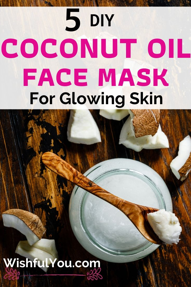 Coconut Oil Face Mask For