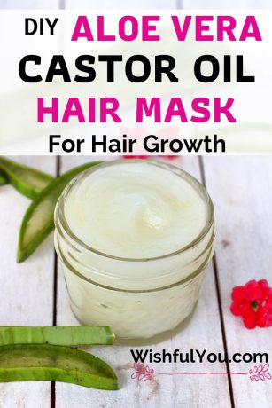 Castor Oil And Aloe Vera Hair Mask For Hair Growth