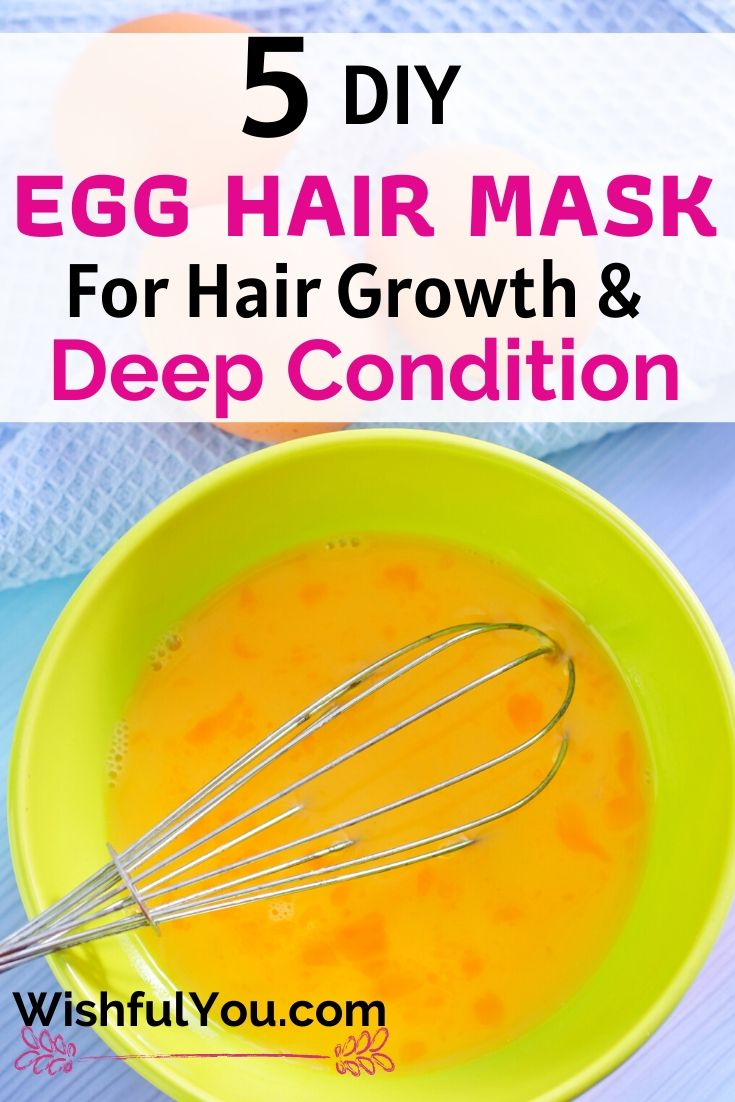 Egg Hair Mask For Hair Growth & Deep Condition