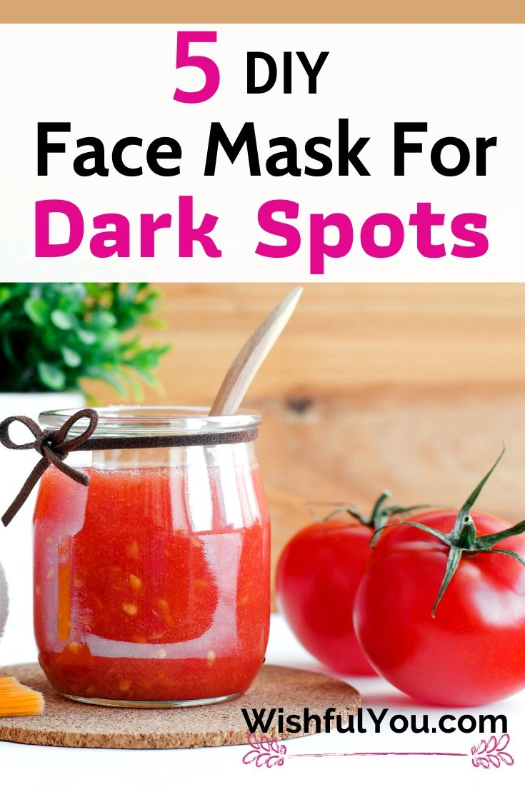 Face Mask To Get Rid Of Dark Spot On Face