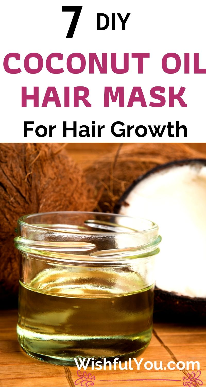 Coconut Oil Hair Mask For Hair Growth