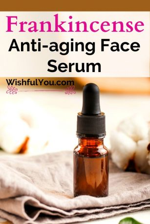 DIY Frankincense Anti-Wrinkle Face Serum