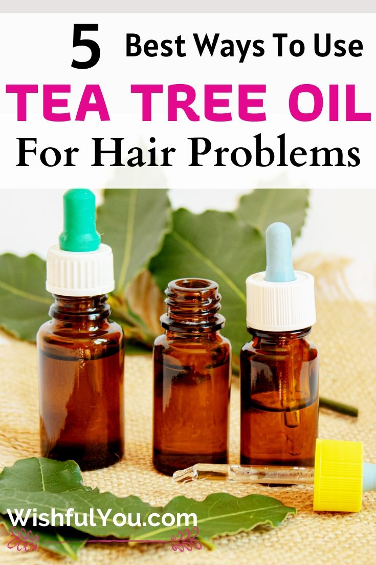 Tea Tree Oil For Hair & Scalp